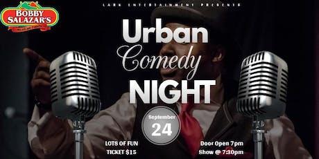 bobby salazar's Urban Comedy Night tickets