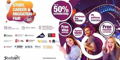 Study, Career & Migration Fair in Sydney