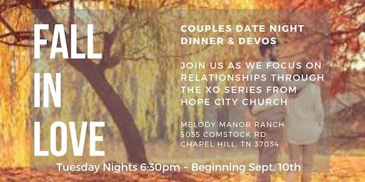 Date Night Dinner & Devos