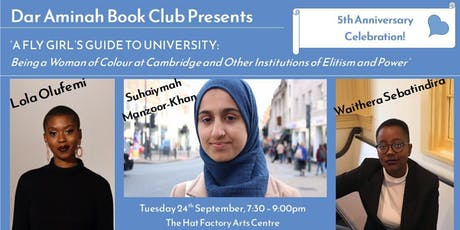 Dar Aminah Author Event - A FLY Girl's Guide to University tickets