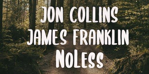 Sonorous Sessions ft. Jon Collins, James Franklin & NoLess'