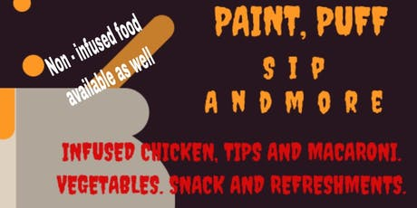 Halloween Puff Paint and Sip  tickets