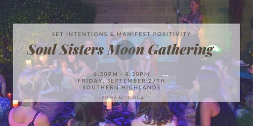 Soul Sisters New Moon Gathering