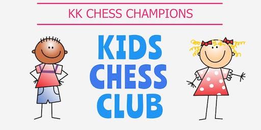 Children Chess Play