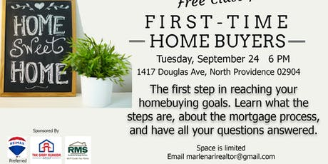 First Time Home Buying Info Night  tickets