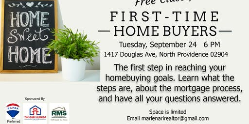 First Time Home Buying Info Night