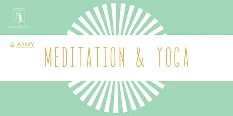 Meditation and Yoga tickets