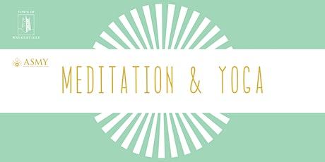 Meditation and Yoga tickets