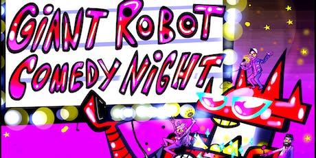 Giant Robot Comedy (Badawi, Martinez, Ghosh, Yamamoto) tickets