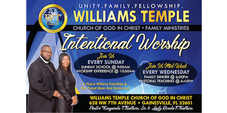 Intentional Worship Service tickets