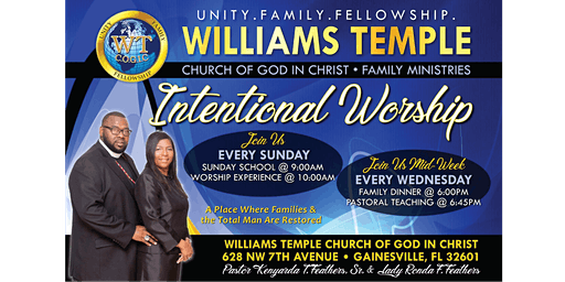 Intentional Worship Service