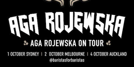 World Barista Champion Aga Rojewska Tour, Auckland tickets