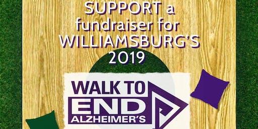 Cornhole Tournament For Alzheimer's