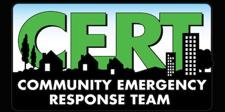 CERT Neighborhood Deployment Drill - Oct 5th 2019 tickets