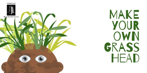 Make Your Own Grass Head