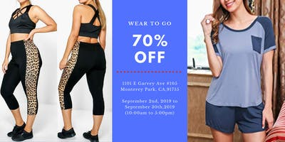 Wear To Go Summer Clearance Sale