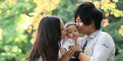 "Professional Family Portrait event ""KOMUNOKI"" in Tokyo"