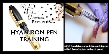 Hyaluron Pen Training Kelowna tickets