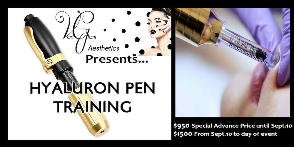 Hyaluron Pen Training Kelowna