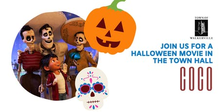 "Children's Halloween Movie ""Coco"" tickets"