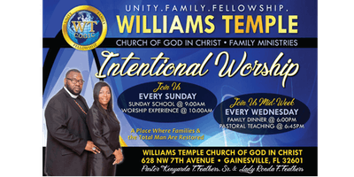 Mid-Week Intentional Worship Service