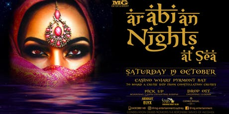 Arabian Nights at Sea tickets