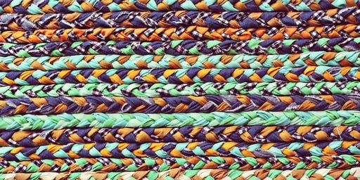 Plaited Rugs using Recycled T-Shirts for Adults
