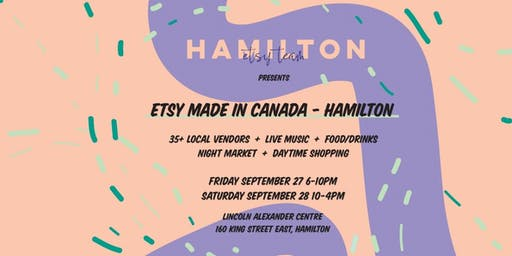 Etsy Made in Canada- Hamilton