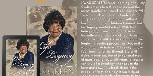 The Life & Legacy of Lear Green - Book Launch Event