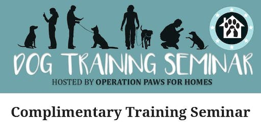 Dog Training Seminar