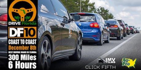Drive Florida Rally 10: Coast to Coast tickets