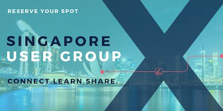 Singapore User Group Q3 2019 Meeting tickets