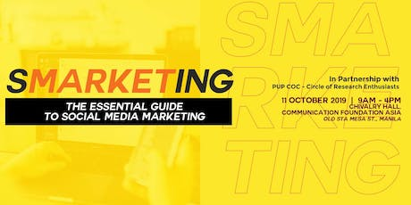 SMARKETING: The Essential Guide To Social Media Marketing tickets