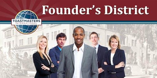 2019 Founder's District Emerging Leadership Breakfast
