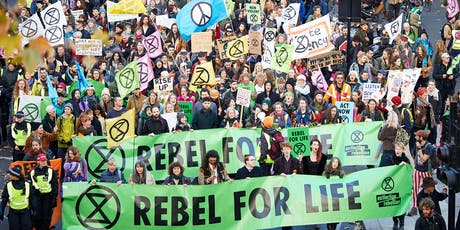 Extinction Rebellion Peaceful Protest training tickets