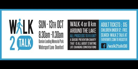 Walk 2 Talk tickets