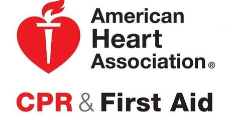 American Heart Association CPR and First Aid tickets