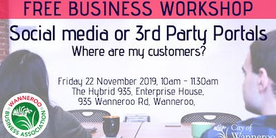 FREE business workshop - Social Media or 3rd Party Portals?