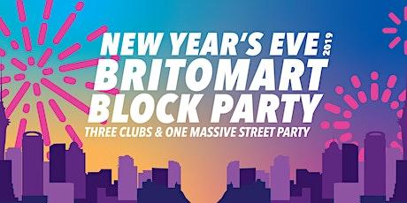Britomart Block Party NYE 2019 tickets