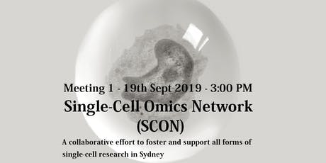SCON Meeting One - 19th Sept 2019 tickets