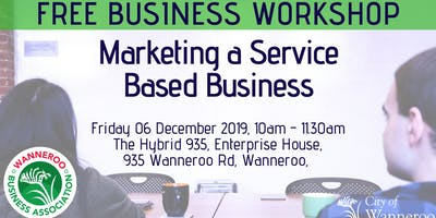 FREE Business Workshop - Marketing a Service Based Business