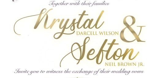 Krystle & Sefton Vow Exchange