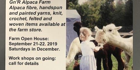 Alpaca Farm - Annual Open House tickets