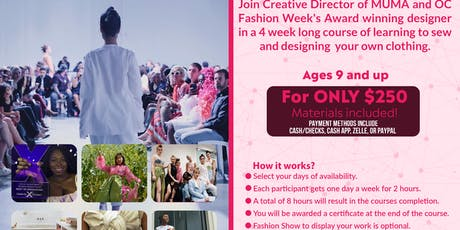 Express Yourself Sewing Course  tickets