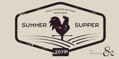2019 Summer Supper