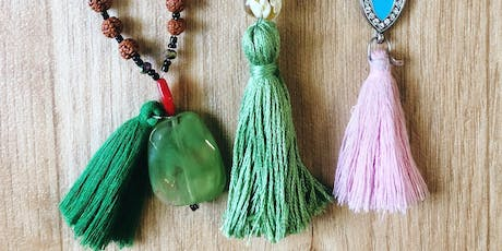 Mala Bead Making Class: Divided by Three Malas + Wax Poetic Candle Bar tickets