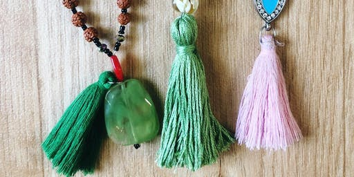 Mala Bead Making Class: Divided by Three Malas + Wax Poetic Candle Bar