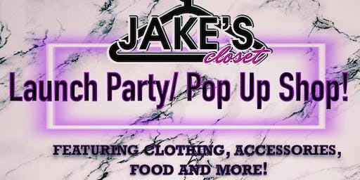 Jake's Closet Pop Up Shop