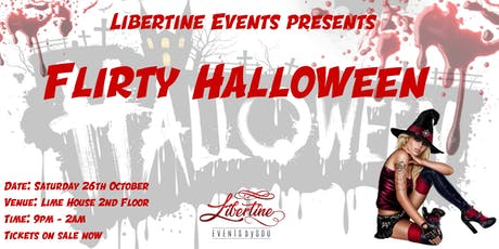 Libertine Flirty Halloween Party tickets