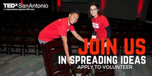 TEDxSanAntonio - Become a Volunteer